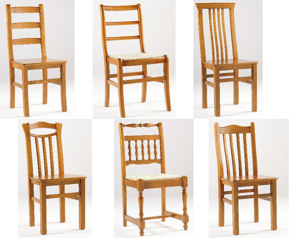 Fabricamos cadeiras em diversas Madeiras com vários acabamentos