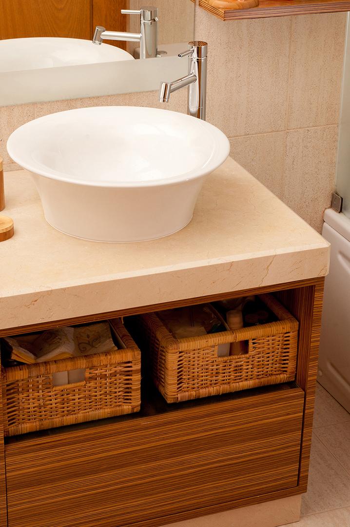 Móvel de Casa de Banho em Zebrano